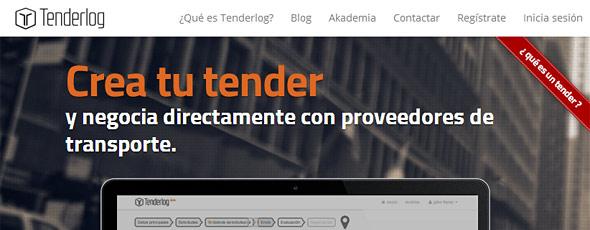 Tenderlog.com un buscador de proveedores de transporte para nuestra tienda online