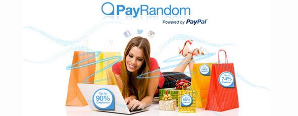 PayRandom, la forma divertida de comprar online