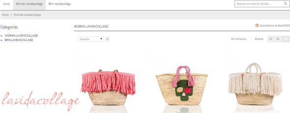 Lavidacollage, nuestra tienda online del mes de agosto
